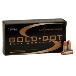CCI Gold Dot 9mm 124Gr Gdhp - 3618