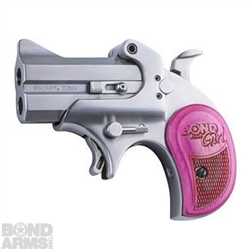 BOND ARMS GIRL MINI .38 SPECIAL/.357 MAGNUM PINK REVOLVER - BAM38/357
