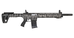 PANZER ARMS AR12 12 GAUGE SEMI-AUTOMATIC SHOTGUN IN GRAY - AR12SGCRS