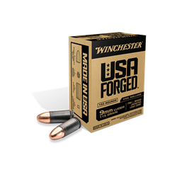 Winchester 115 gr. FMJ- Brass Jacketed Lead Core - WIN9SK
