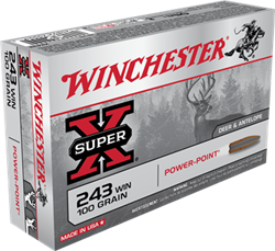 Winchester 100 gr. Power-Point - X2432