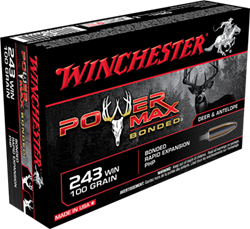 Winchester 100 gr. Power Max Bonded - X2432BP