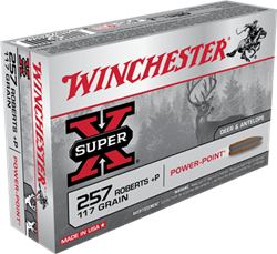 Winchester 117 gr. Power-Point - X257P3