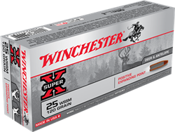 Winchester 120 gr. Positive Expanding Point - X25WSS