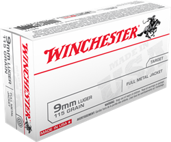 Winchester 115 gr. Full Metal Jacket - Q4172