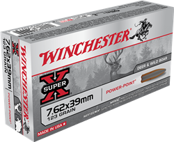 Winchester 123 gr. Power Point - X76239