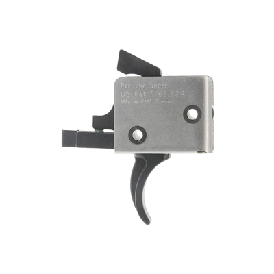 CMC Triggers AR Match Grade 2-Stage Curved Trigger 1/3Lbs - 91502