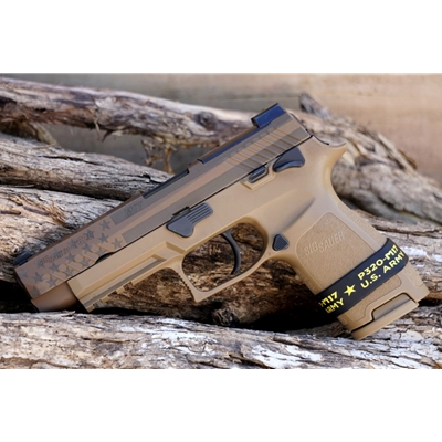 "Sig Sauer P320F M17 Freedom 9MM 4.7"" 17RD - MANUAL SAFETY"