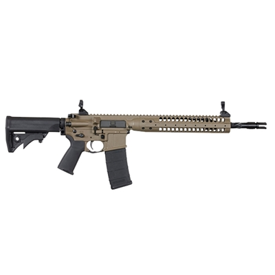 "LWRC IC-SPR 5.56MM FDE 16.1"" 30RD RIFLE - ICR5CK16SPR"