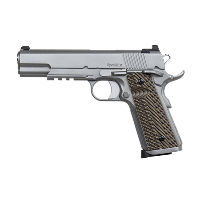 Dan-Wesson-Specialist-45ACP-Stainless-1913-Rail-left