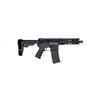 "Diamondback DB15 Semi Automatic Pistol With Brace 5.56 NATO 7"" Barrel 30 Round Black - DB15PCML7SB3"
