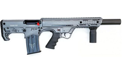 "BLACK ACES TACTICAL BULLPUP 12GA, 18.5""BRL, GRAY SYN - BATBPGY"