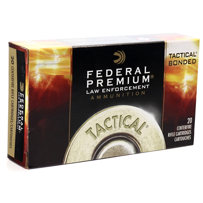 Federal Tctl 308 165Gr Bonded Sp - LE308T1