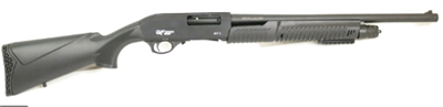 "G FORCE 12 GAUGE 20"" BARREL PUMP ACTION SHOTGUN IN BLACK - FP31220"